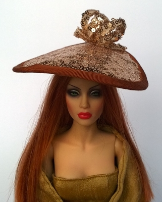 Golden Girl (Hats by Gudrun)