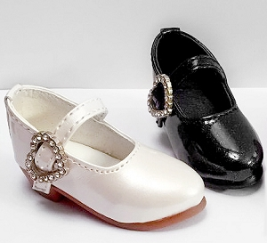 Heart Buckle Mary Janes (For SD & MSD)