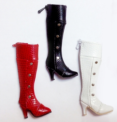 Knee High Stud Boots (For Fashion Royalty)