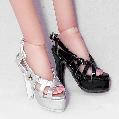 Strappy Platform Sandals (For Kingdom Doll)