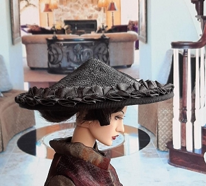 Shade of Pewter (Hats by Gudrun)