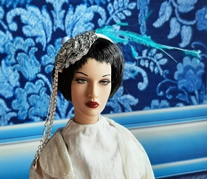 Silver Rose (Hats by Gudrun)