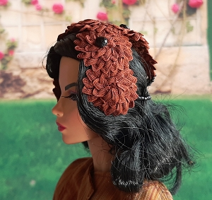 So Pretty in Chestnut (Hats by Gudrun)
