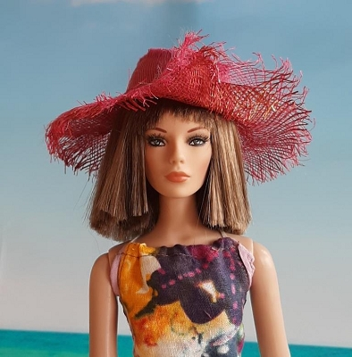 Tropical Flower (Hats by Gudrun)