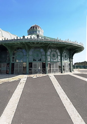 Asbury Park Carousel (Photo Backdrop)