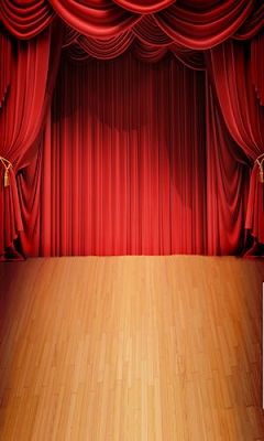Stage Curtain (Photo Backdrop)