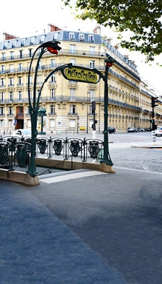 Paris Metro (Photo Backdrop)