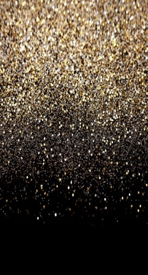 Black Gold Glitter (Photo Backdrop)