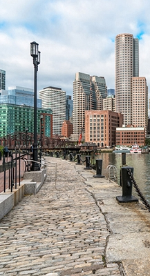 Boston Waterfront  (Photo Backdrop)