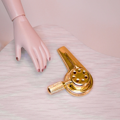 Brass Hair Dryer