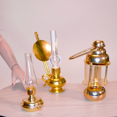 Brass Vintage Lamps