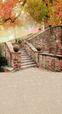 Brick Steps (Photo Backdrop)
