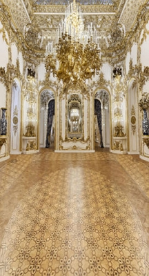 Gold Palace Foyer (Photo Backdrop)