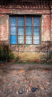 Dilapidated Window (Photo Backdrop)