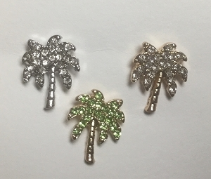 Rhinestone Palm Tree