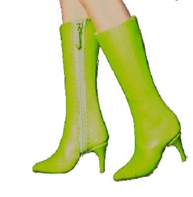 Knee-High Zipper Boots (For Tyler)