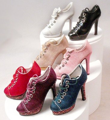 Platform Lace-Up Shoes (For Ellowyne)