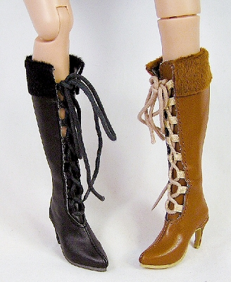 Knee High Trek Boots (For Ellowyne)
