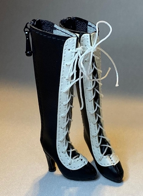 Knee Lace-Up Boots (For Fashion Royalty)