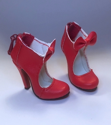 Open Bow Shoe (Extreme High Heel)