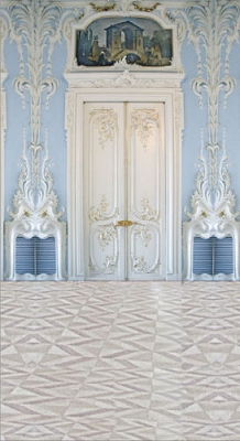 Ornate Blue Room (Photo Backdrop)