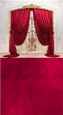 Red Curtain Runway (Photo Backdrop)