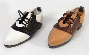Flat Foot Saddle Shoes (For Tyler)