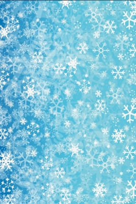 Blue Snowflake (Photo Backdrop)