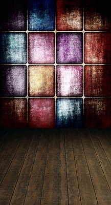 Stained Glass Squares (Photo Backdrop)