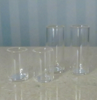 Glass Tumblers (1:4 scale)