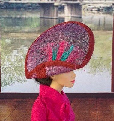 Anyone for Pink? (Hats by Gudrun)