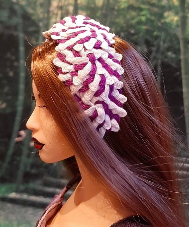 Blueberry Candy (Hats by Gudrun)