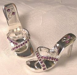 Rhinestone Strappy Sandals (For Tyler)