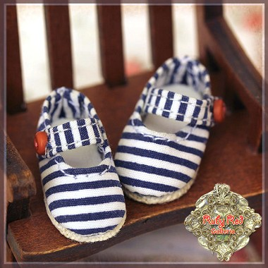 Striped Mary Janes by Ruby Red