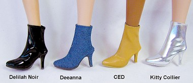 Ankle Zip Boots (For Dede/Deanna)