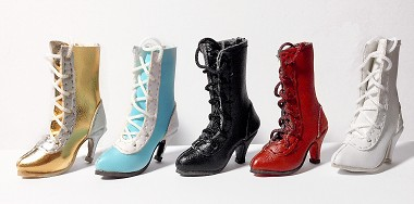 Calf Lace-Up Boots (For Fashion Royalty)