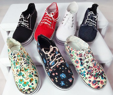 Canvas Sneakers (For SD & Slim MSD)
