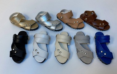 Curve Flat Sandals (For Kins)
