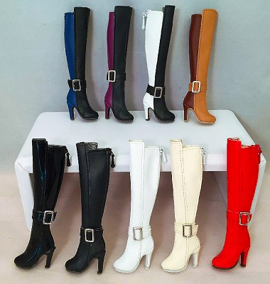 "2-Tone High Boots (For 12"")"