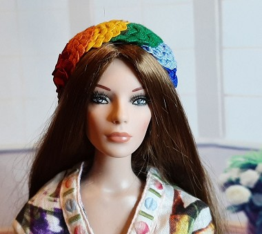 Paint Me a Rainbow (Hats by Gudrun)