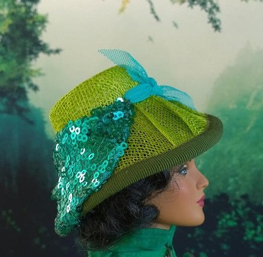The Twist of Spring (Hats by Gudrun)