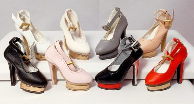 Box Platform Pumps (For Kingdom Doll)