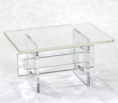 "Mirrored Table by Horsman (For 16"")"